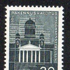 Sellos: FINLANDIA AÑO 1961 YV 516* 150 ANVº DE LA COMISIÓN GENERAL DE EDIFICIOS - ARQUITECTURA. Lote 15696654