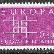 Sellos: FINLANDIA AÑO 1963 YV 556* EUROPA CEPT - ALEGORÍA. Lote 15698205