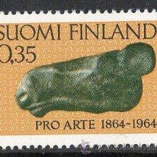 Sellos: FINLANDIA AÑO 1964 YV 559* CENTº DE LA ASOCIACIÓN DE ARTISTAS - ESCULTURA - BELLAS ARTES - ARTE. Lote 15698709