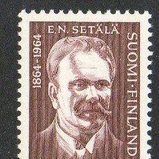 Sellos: FINLANDIA AÑO 1964 YV 560* CENTº DEL PROFESOR EMIL N. SETALA - POLÍTICO - PERSONAJES. Lote 15698797