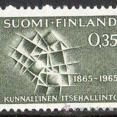 Sellos: FINLANDIA AÑO 1965 YV 567* CENTENARIO DE LAS ASAMBLEAS COMUNALES. Lote 15699234