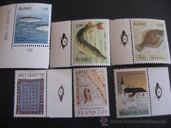 AÑO 1990 COMPLETO DE ALAND,FINLANDIA (Sellos - Extranjero - Europa - Finlandia)