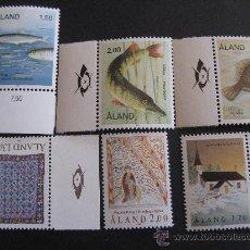 Sellos: AÑO 1990 COMPLETO DE ALAND,FINLANDIA. Lote 22858249