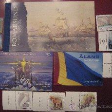 Sellos: AÑO 2004 COMPLETO CON DOS CARNET INCLUIDO DE ALAND,FINLANDIA. Lote 22858323