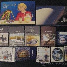 Sellos: AÑO 2005 COMPLETO CON DOS CARNET INCLUIDO DE ALAND,FINLANDIA. Lote 22858325