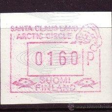Sellos: FINLANDIA DISTRIBUIDOR 7*** - AÑO 1989 - VALOR 160 - EL PAÍS DE PAPÁ NOEL. Lote 19539768