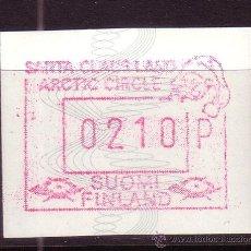 Sellos: FINLANDIA DISTRIBUIDOR 7*** - AÑO 1989 - VALOR 210 - EL PAÍS DE PAPÁ NOEL. Lote 19539777