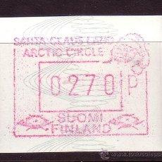 Sellos: FINLANDIA DISTRIBUIDOR 7*** - AÑO 1989 - VALOR 270 - EL PAÍS DE PAPÁ NOEL. Lote 19539786