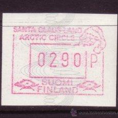 Sellos: FINLANDIA DISTRIBUIDOR 7*** - AÑO 1989 - VALOR 290 - EL PAÍS DE PAPÁ NOEL. Lote 19539804