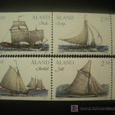 Sellos: ALAND 1995 IVERT 95/8 *** BARCOS DE TRANSPORTE DEL ARCHIPIELAGO. Lote 19793847