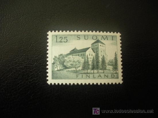 FINLANDIA 1961 IVERT 509 *** SERIE BÁSICA - CASTILLO DE TURKU - MONUMENTOS (Sellos - Extranjero - Europa - Finlandia)