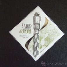 Sellos: ALAND (FINLANDIA), Nº YVERT 305***AÑO 2009. NUEVA FRONTERA. Lote 20940017