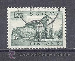 FINLANDIA,CASTILLO- 1963-74, USADO (Sellos - Extranjero - Europa - Finlandia)