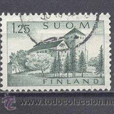 Sellos: FINLANDIA,CASTILLO- 1963-74, USADO. Lote 22143010