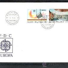 Sellos: FINLANDIA 890/1 PRIMER DIA, TEMA EUROPA, GRANDES OBRAS DE LA HUMANIDAD,. Lote 22533962