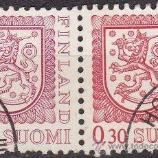 Sellos: FINLANDIA 1978 SCOTT 555/7 SELLO SERIE BASICA HERALDICA UNIDOS USADOS SUOMI FINLAND . Lote 10963861