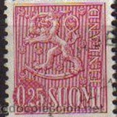 Sellos: FINLANDIA 1963 SCOTT 403 SELLO HERALDICA LEON RAMPANTE USADO SUOMI FINLAND . Lote 10963386