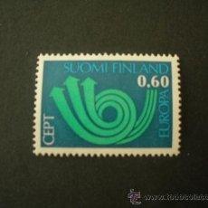 Sellos: FINLANDIA 1973 IVERT 687 *** EUROPA. Lote 27540382