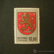 Sellos: FINLANDIA 1974 IVERT 708 *** SERIE BÁSICA - ESCUDOS NACIONALES. Lote 27630951