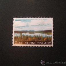 Sellos: FINLANDIA 1977 IVERT 773 *** EUROPA - PAISAJE DEL NORTE DE FINLANDIA. Lote 29454333