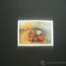Sellos: ALAND 1987 IVERT 23 *** CENTENARIO DEL CUERPO DE BOMBEROS DE ALAND. Lote 29815689