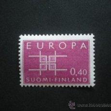 Sellos: FINLANDIA 1963 IVERT 556 *** EUROPA. Lote 30367072