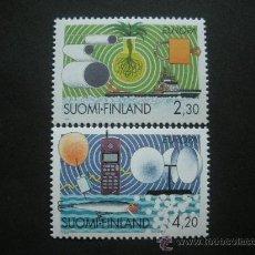Sellos: FINLANDIA 1994 IVERT 1214/5 *** EUROPA - LOS DESCUBRIMIENTOS. Lote 30421517