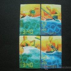 Sellos: FINLANDIA 1996 IVERT 1313/6 *** CENTENARIO JUEGOS OLIMPICOS MODERNOS Y JUEGOS DE ATLANTA- DEPORTES. Lote 30421555