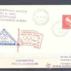 Sellos: 1960.- FINLANDIA A ALEMANIA. Lote 36235953
