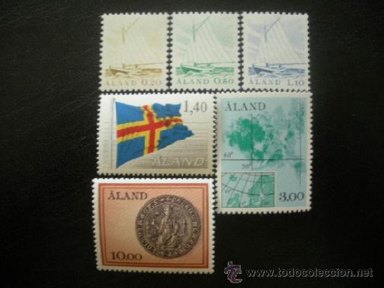 ALAND 1984 IVERT 1/6 *** SERIE BÁSICA - ASPECTOS DEL ARCHIPIELAGO (Sellos - Extranjero - Europa - Finlandia)