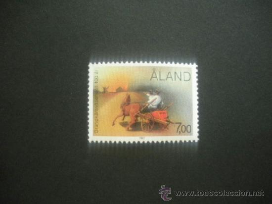ALAND 1987 IVERT 23 *** CENTENARIO DEL CUERPO DE BOMBEROS DE ALAND (Sellos - Extranjero - Europa - Finlandia)