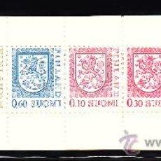 Sellos: FINLANDIA CARNET 942** - AÑO 1985 - ESCUDO DE FINLANDIA. Lote 38921819