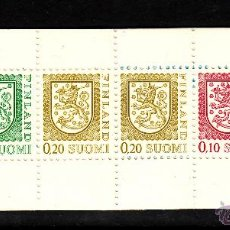 Sellos: FINLANDIA CARNET 790 III** - AÑO 1978 - ESCUDO DE FINLANDIA. Lote 39580551