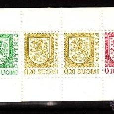Sellos: FINLANDIA CARNET 790 IV** - AÑO 1984 - ESCUDO DE FINLANDIA. Lote 39619078