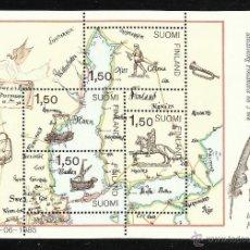 Timbres: FINLANDIA 1985 - HOJA BLOQUE NUEVA YVERT Nº 1. Lote 41596973
