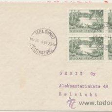 Sellos: CARTA DE HELSINKI A HELSINKI. FRANQUEADA EL 24- 4 - 1961.. Lote 44023542
