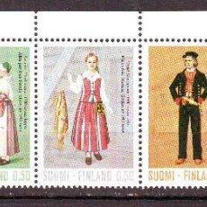 Sellos: FINLANDIA.AÑO 1972.TRAJES REGIONALES.SERIE NUEVA COMPLETA.. Lote 44835999