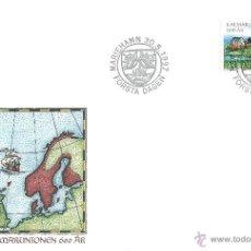 Sellos: FINLANDIA - FDC ALAND. Lote 46757543
