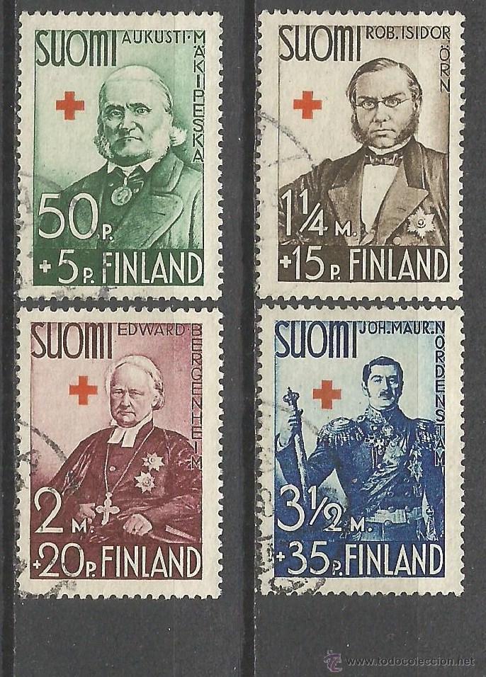 FINLANDIA YVERT NUM. 19691 SERIE COMPLETA USADA (Sellos - Extranjero - Europa - Finlandia)