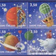 Sellos: FINLANDIA 2000 CARNET FELICITACIONES NUEVO 1477 1482 LUJO MNH *** SC. Lote 48445428