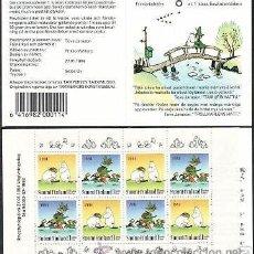 Sellos: FINLANDIA 1994 CARNET NUEVO DIA DE LA AMISTAD LUJO MNH ***. Lote 48451651