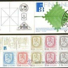 Sellos: FINLANDIA 1987 CARNET NUEVO MH-19 LUJO MNH *** SC. Lote 48488217