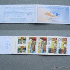 Sellos: FINLANDIA 1987 CARNET CARTERO NUEVO LUJO MNH *** SC. Lote 48488283