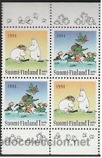FINLANDIA 1994 MINIPLIEGO DIA DE LA AMISTAD NUEVO LUJO VER DETALLE MNH *** SC (Sellos - Extranjero - Europa - Finlandia)