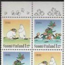 Sellos: FINLANDIA 1994 MINIPLIEGO DIA DE LA AMISTAD NUEVO LUJO VER DETALLE MNH *** SC. Lote 49593581