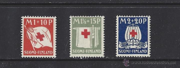 FINLANDIA 1930 CRUZ ROJA SERIE NUEVA LUJO MNH *** SC (Sellos - Extranjero - Europa - Finlandia)