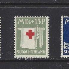 Sellos: FINLANDIA 1930 CRUZ ROJA SERIE NUEVA LUJO MNH *** SC. Lote 49594270