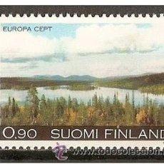 Sellos: FINLANDIA YVERT NUM. 773 ** SERIE COMPLETA SIN FIJASELLOS. Lote 262673680