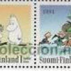 Sellos: FINLANDIA 1994 SERIE MUMINS NUEVO LUJO MNH *** SC. Lote 206588056