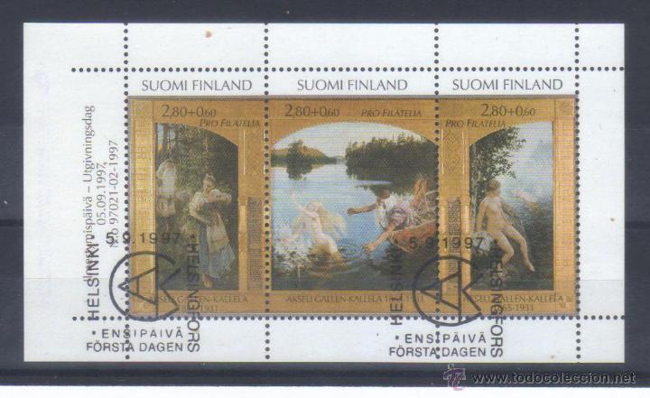 FINLANDIA 1997 PROFILATELIA HB PRIMER DIA (Sellos - Extranjero - Europa - Finlandia)